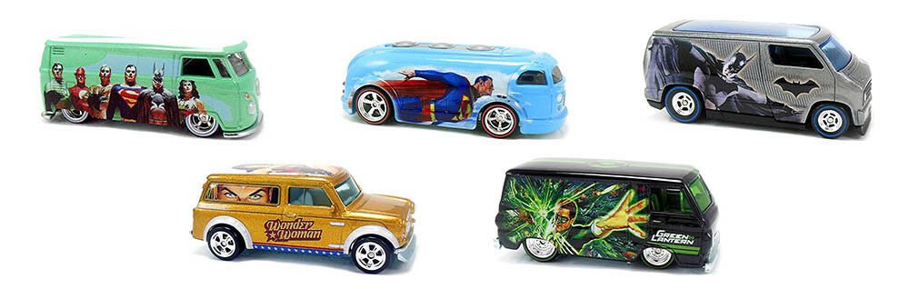 Alex Alex Alex Ross DC Heroes Series Pop Culture Set 5 modèles 1 64 Hot Wheels dlb45 a88885
