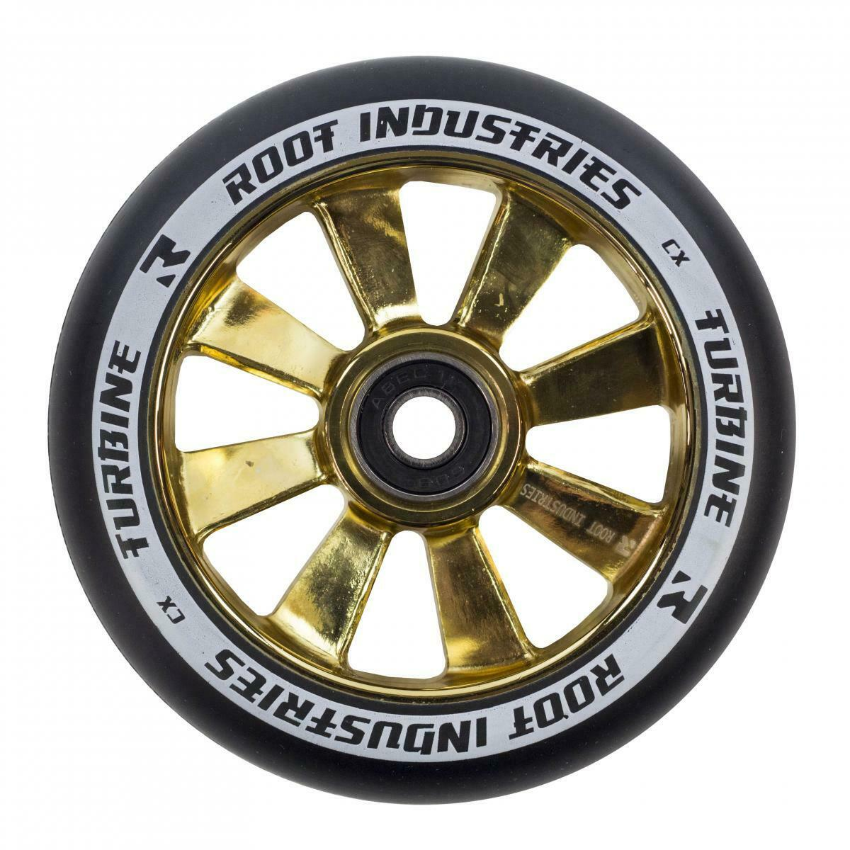 Root Industries Turbine Stunt Scooter Reel 110mm gold