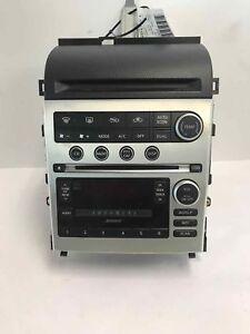 Image Is Loading 2006 Infiniti G35 Radio Dash Unit Bose Audio
