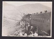 Vintage Photo - PERU, Train with Broken Axle, Peruvian Railway - March 1936