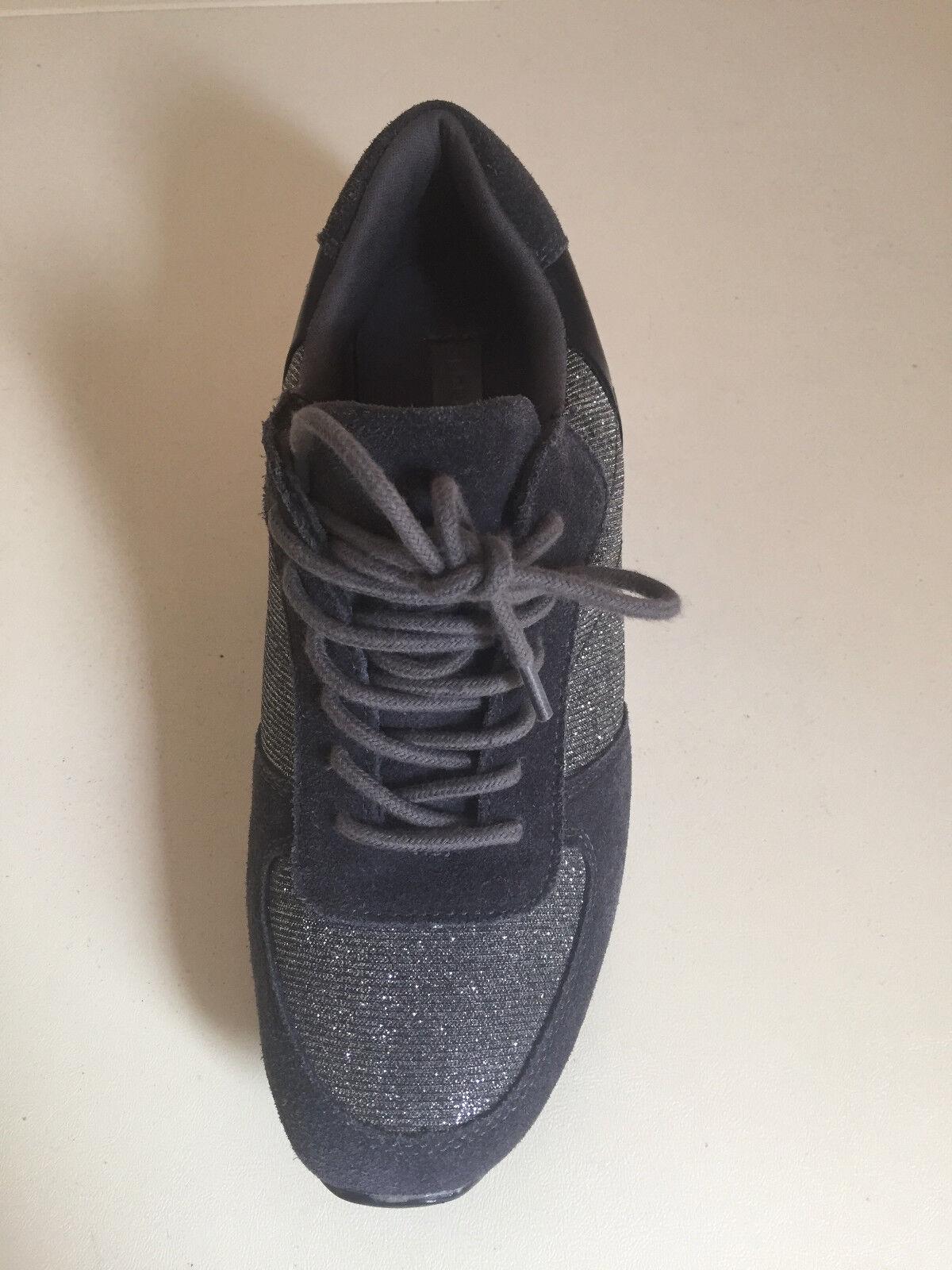 Zapatillas para niñas damas Pentágono gris Plateado Brillante Talla Talla Talla UK5-6 por Londres Rag  para mayoristas