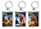 BACK TO THE FUTURE TRILOGY SET OF 3 KEYRING LLAVEROS