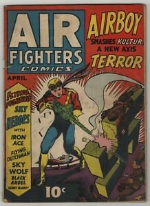 Air-Fighters-1941-Vol-1-7-Classic-Nazi-Swastika-Cover-Japanese-Stories-APP-GD