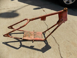 Details about frame FOR vintage 1950's mustang minibike motorcycle  restoration project
