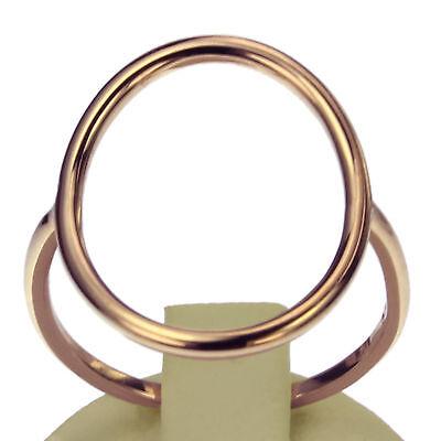 Goldring Gold 585er Rotgold Damenring 14Kt Gr 48 bis 60 Juwelier Band Ring
