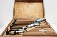 Starrett 436 Outside Micrometer Set 0001in 1 12in