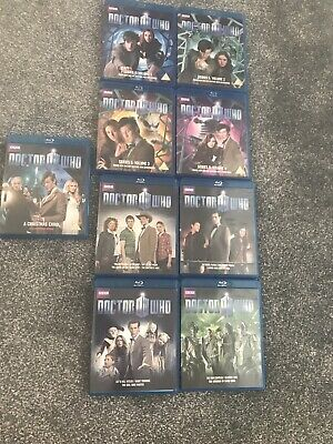 Doctor Who - Series 5 , Series 6 And A Christmas Carol Blu Ray Matt Smith | eBay