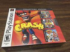 *New* Crash Bandicoot: Collectors' Edition (Sony PlayStation 1, 2002)