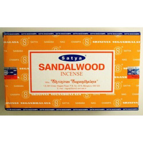 Original Satya Sai Baba Sandalwood Nag Champa Incense Sticks Agarbatti 15gm
