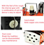 thumbnail 3 - XF-2012 Portable Electric Bag Stitching Closer Seal Sewing Machine Industrial