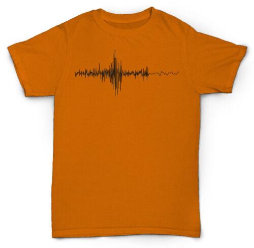 SOUND WAVES T-SHIRT MIXING RECORDING HIP HOP DJ MC RAP