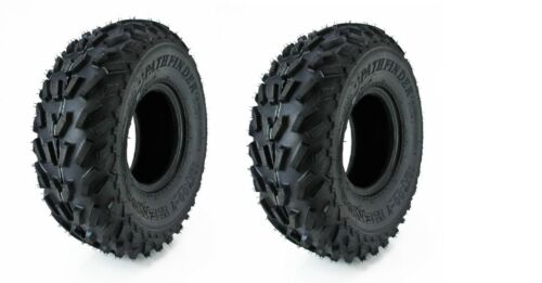 CAN REPLACE THE 18x8-7 2 TIRES 18x7-7 KENDA PATHFINDER ATV TIRES NEW PAIR