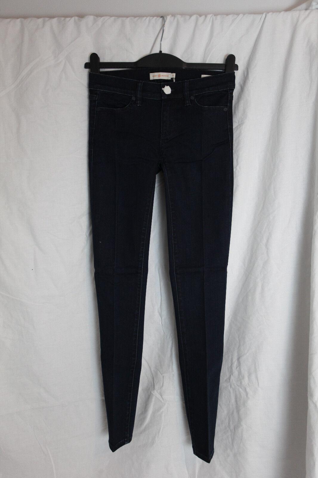 NWOT Tory Burch Legging Jean In Rinse Size 24