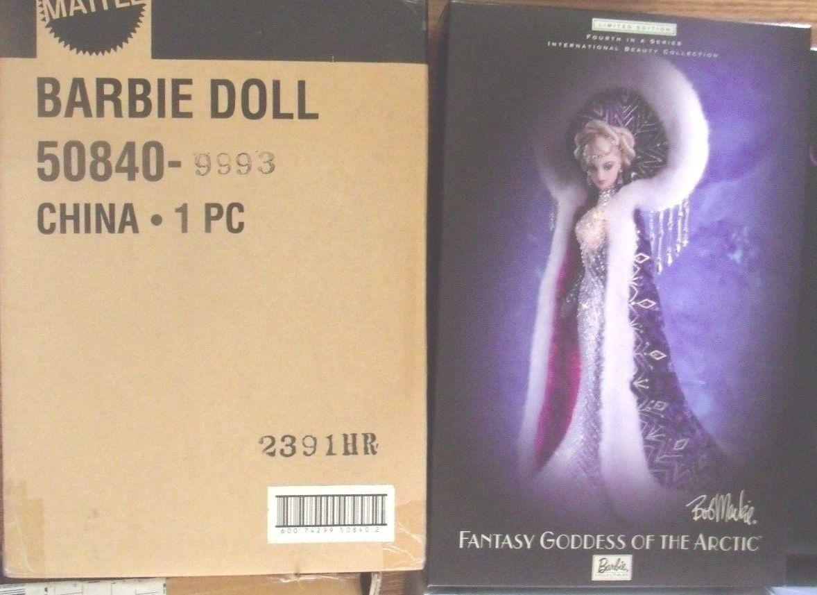 Fantasy Diosa del Ártico Barbie Bob Mackie belleza con envío internacional