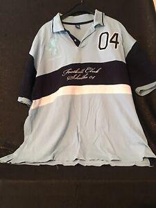 Poloshirt-Schalke-04-3XL-Footballclub-Polo-Shirt-gestickt-since-1904