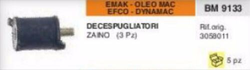 3058011 ANTIVIBRANTE DECESPUGLIATORE EMAK OLEOMAC EFCO DYNAMAC MODELLI A ZAINO