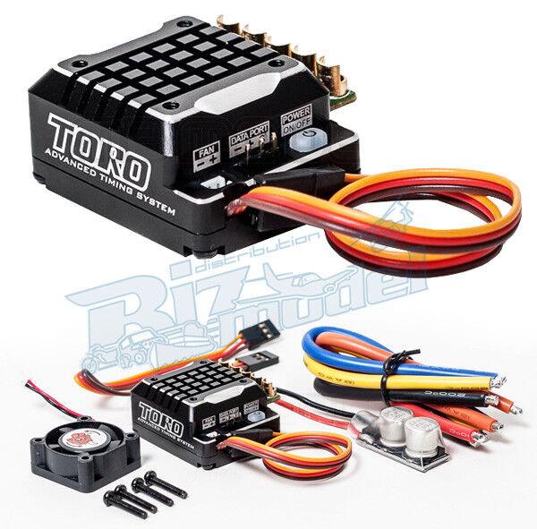 SK-300062-02 Toro TS 120A ESC for 1 10th Scale Sensorojo ESC negro