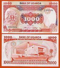 P26 uganda 1000 shillings 1986 UNC
