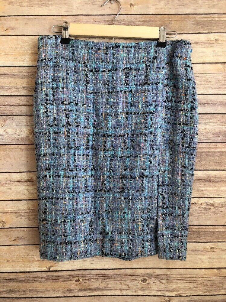 Serena Kay Paris Vintage Rare Find Tweed Skirt Size 42