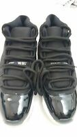 Air Jordan Xi 11 Black Replacement Shoelace Round Rope Bred Space Jam Gamma