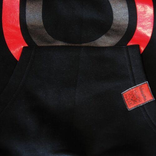 Nouveau officiel bimota mans noir à capuche