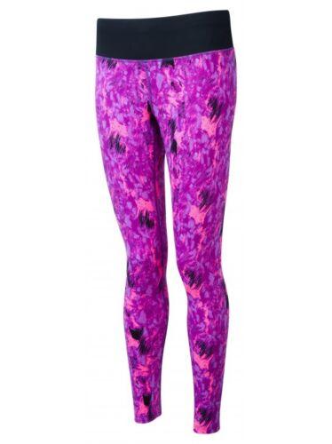 Ronhill femme running jogging gym rythmique tight lilas imprimé