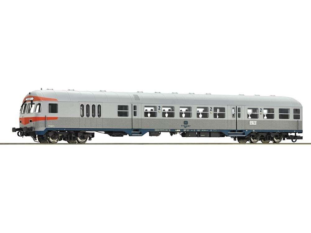 ROCO 64663 vagoni trasporto di massa-carrello fiscale argentoling 2.kl. dB