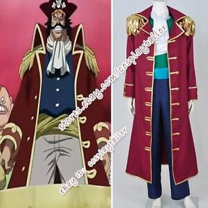 one piece dracule mihawk cosplay costume gold roger cos anime