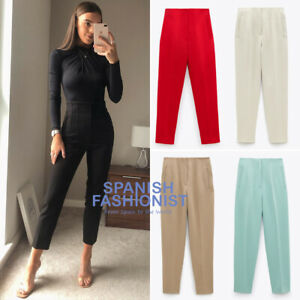 ZARA-WOMAN-NEW-SS20-HIGH-WAISTED-PANTS-in-5-COLORS-ALL-SIZES-REF-7102-032