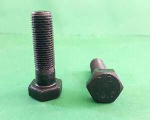 Sechskantschrauben mit Schaft DIN 931 12.9 Stahl blank M 10 M 16