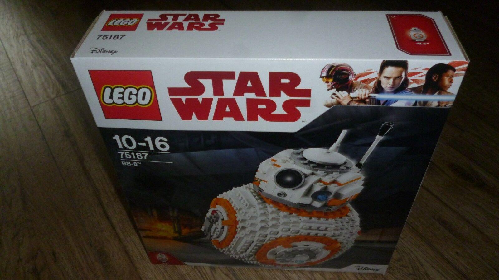 LEGO Star Wars BB-8 75187 released 2017 SEALED BOX BNIB