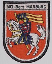 """Marine Aufnäher Patch Abzeichen MiJ-Boot """"Marburg"""" M1080 ..........A3906"""