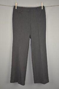 ANN-TAYLOR-88-Signature-Fit-Gray-Wide-Leg-Trouser-Pants-Size-6