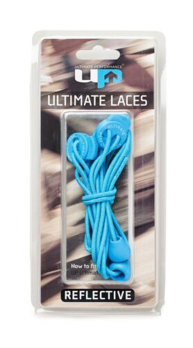 Ultimate Performance Elastic Lock Laces Reflective Running Jogging
