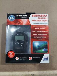 Midland Emergency Portable Weather Radio