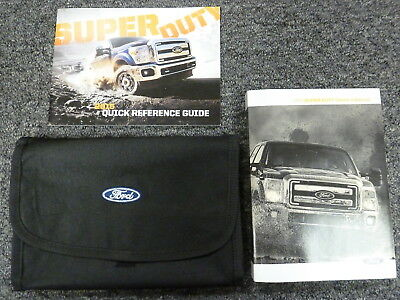ford   super duty truck owner manual king ranch