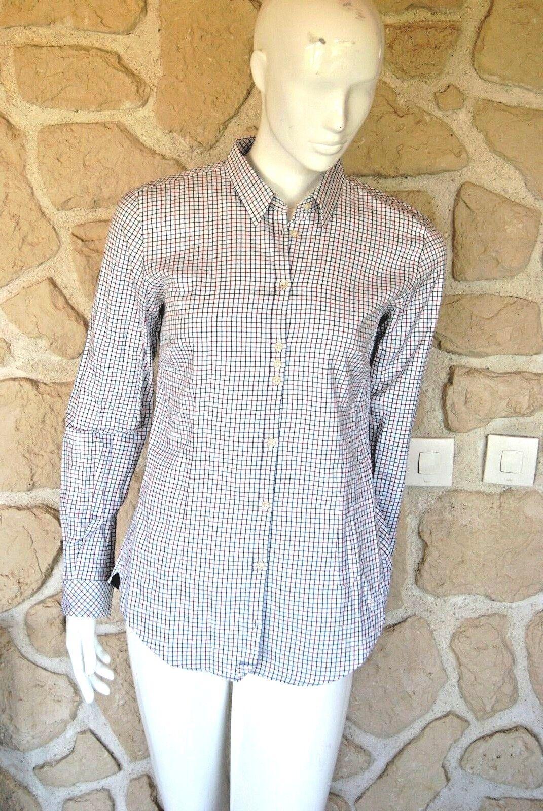Chemise à voiturereaux neuve taille 38 Dubarry elderfFaibleer étiquetée à