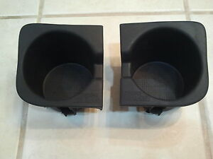 toyota tacoma 2 double cab center console cup holder inserts 2005 2012 ebay. Black Bedroom Furniture Sets. Home Design Ideas