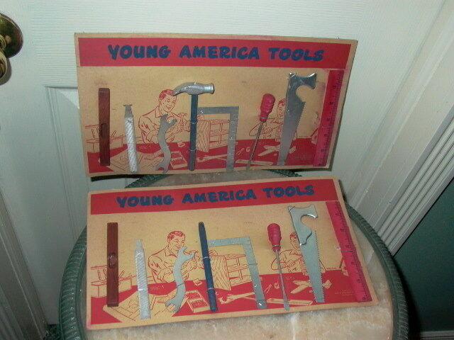 2. geo - robinson alten spielzeug - young america - werkzeuge warenzusammenstellungen