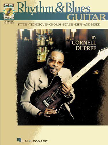 Rhythm /& Blues Guitar Learn to Play R/&B BLUES Funk TAB Music Book CD SCALES VAMP