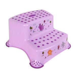 zweistufiger tritthocker hippo schemel rutschfest stufenhocker kinder fu bank. Black Bedroom Furniture Sets. Home Design Ideas