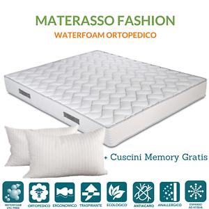 ITALIENISCHE ANGEBOT Orthopädische Weiße Matratze Höhe 20cm + 2 Kissen GRATIS 💚