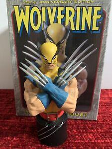 Wolverine-Mini-Bust-Yellow-Costume-Bowen-Designs-Logan-X-Men-MINT