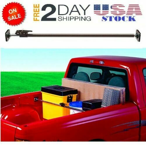 """40/"""" x 70/"""" Ratcheting Cargo Bar Adjustable Pickup Truck Bed Holder Stabilizer"""