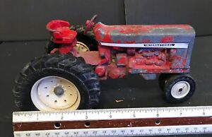 Vintage 1962 Rouge ERTL DIE-CAST IH International Harvester tracteurs agricoles 1/16 USA
