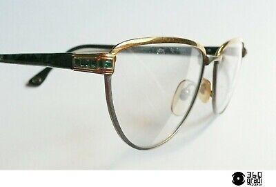Qualità Al 100% Ouverture By Lastes Montatura Per Occhiali Vintage 1980s Mod. Gioia Verde