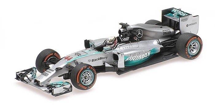 Minichamps 1 43 Mercedes AMG W05 –2014 malaysisk F1 GP vinnare - Lewis Hamilton