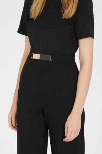 Tuta cintura con magazzino dettaglio nera da TUfrqT