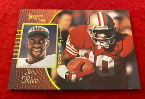 1996 Pinnacle Select Jerry Rice Artist's Proofs #33