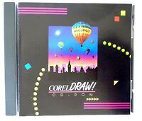 Corel Draw 3 Cd-rom Windows Software Brand Sealed Free Shipping 41